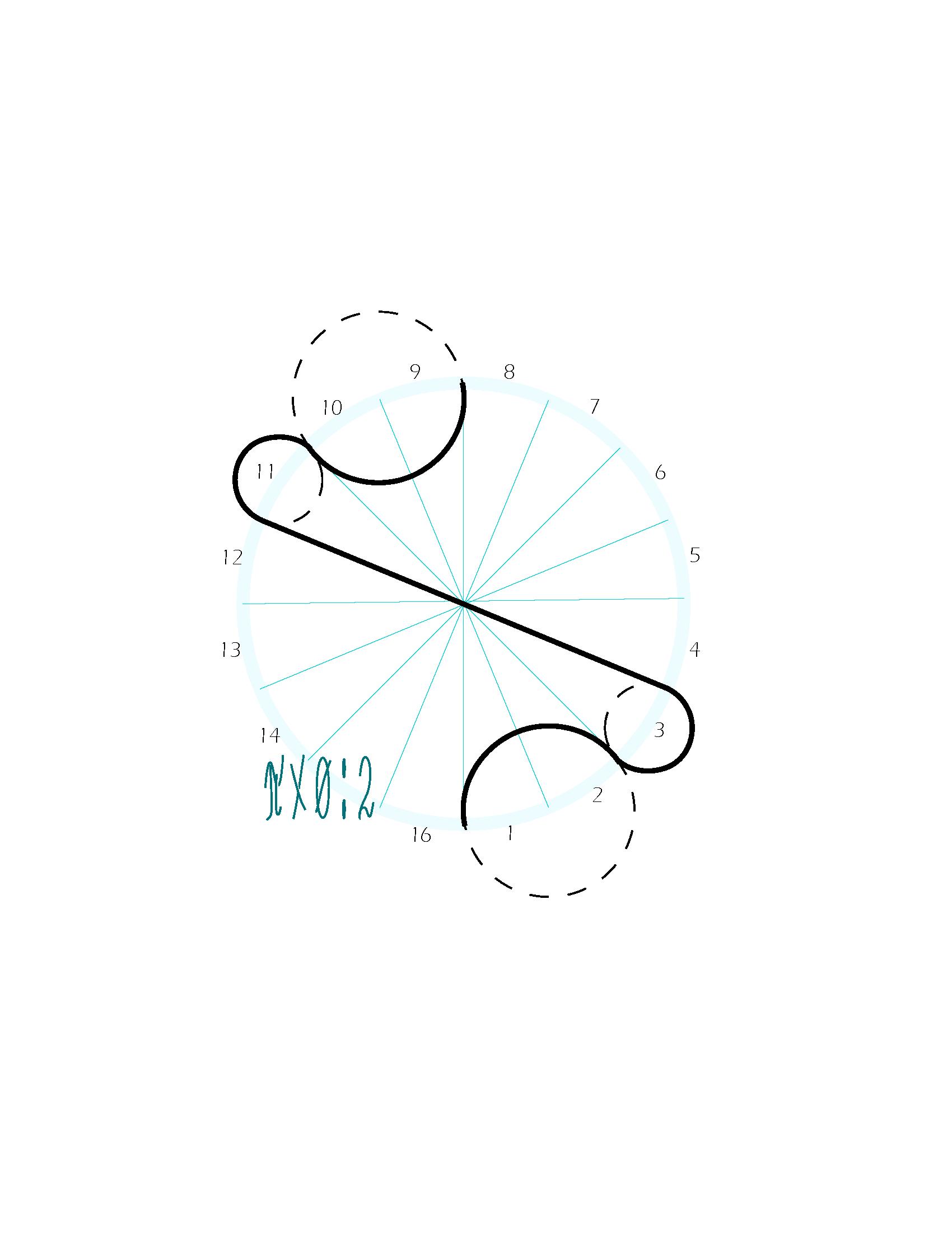 Formule van de berekening van object 3